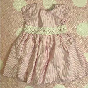 Ralph Lauren pink stripe 18month dress